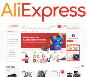 AliExpress.com founded in 2009 is a marketplace offering products at factory prices direct from China.