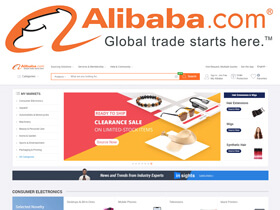 Launched in 1999, Alibaba.com is the leading platform for global wholesale trade.