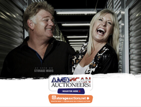 You may have seen them on TV's Storage Wars – Check their auction schedule here to see if they will be near you. American auctioneers are based in Calimesa CA and they are fully insured if you need an auctioneer.