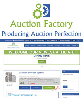 Auction Factory - Established іn 1980 with over 38 years experience in the restaurant and real estate auction Industry.