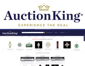 Auction King is built on the experience of three generations of auctioneers.