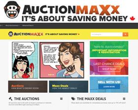 Auction Maxx is a well-established auction site, which was founded in Canada in 2012. With over 10,000 registered users, sellers on Auction Maxx can reach a high volume of buyers.