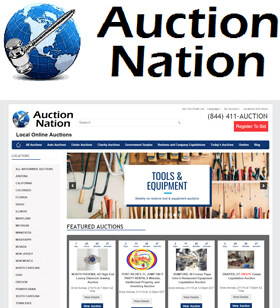 Auction Nation specializes in business equipment liquidations, restaurant equipment, construction equipment, charity auctions, cars, vehicles, equipment auctions, and estate auctions.