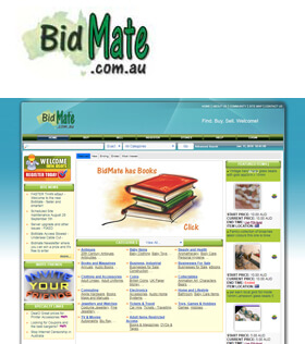 Bidmate is the Progressive Online Auction site where Australians can buy and sell almost any item imaginable.