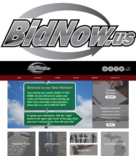 BidNow.us also known as Albrecht Auction - They currently operate out of two locations in Vassar, MI.