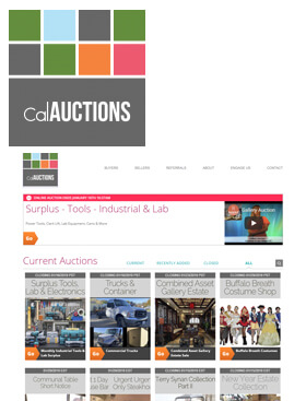 Cal Auctions & Estate Sales was formed in 2011 to provide online auction services for the commercial and estate community.