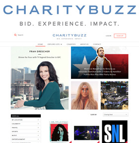 Charitybuzz is the place to find extraordinary experiences and luxuries to benefit remarkable charities making an impact.