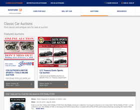 Auto Trader Classic Car Auctions