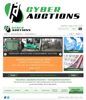 Business Liquidation Auctions