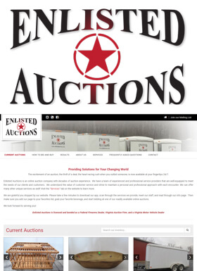 Enlisted Auctions