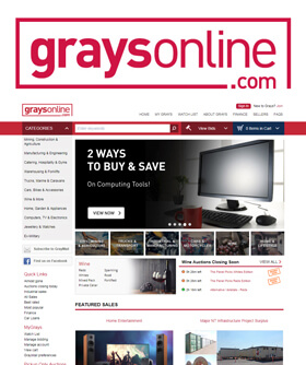 GraysOnline is the largest industrial and commercial online auction business in Australasia