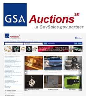 The GSA Auctions® website has been developed to complete GSA's transformation to an all-electronic asset management system.