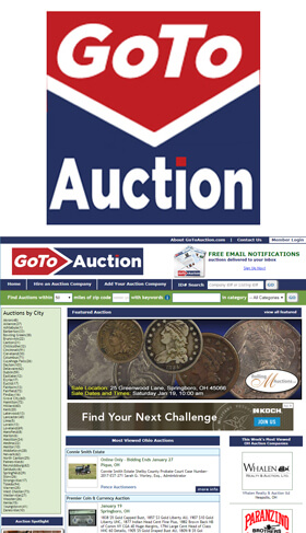GoToAuction.com is a collaboration between a group of auctioneers