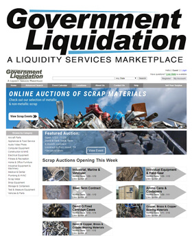 Government Liquidation (GL), a Liquidity Services marketplace