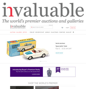 invaluable - Founded in 1989 to provide high quality, independent auction price information to art and antiques professionals.