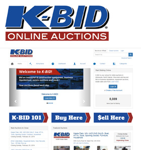 K-BID Online Auctions - Founded in 2002