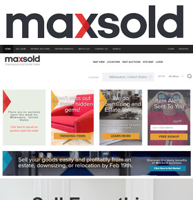MaxSold is a local antique auction on your computer or smart phone with a chance to buy all things early, vintage and unique, including art, sterling, tools, vehicles, outdoor and even modern items!