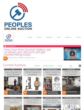 Peoples Auction Company was formed in 1963 to provide auction services for the farm and business community.