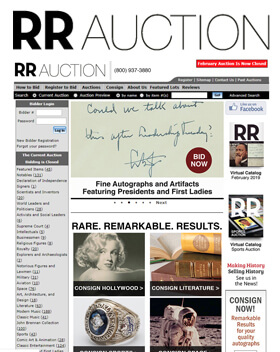 RR Auction - Online Auctions