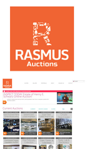 Rasmus Online Auctions
