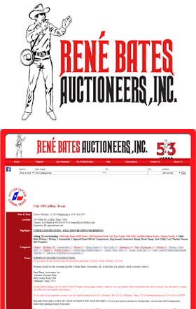 GBE Packaging Supplies highly recommends René Bates Auctioneers, Inc. which celebrated its 50th anniversary in 2016.