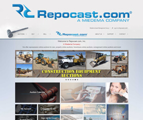Started in 2000, Repocast.com, Inc. is Miedema Asset Management Group's recovery and sales division