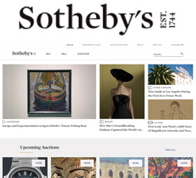 Sotheby's has been uniting collectors with world-class works of art since 1744