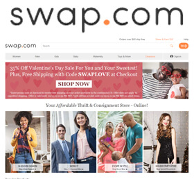 Swap - Your Affordable Online Thrift & Consignment Store
