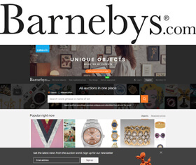 On Barnebys you will find everything you're looking for in art, antiques and collectibles
