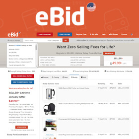 eBid - An auction site started in 2001