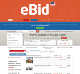 eBid sites in other Countries.