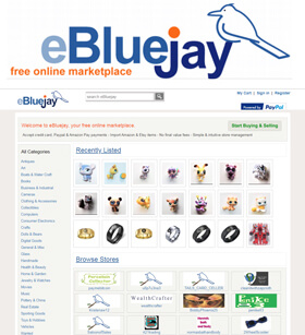 blujay.com launched in 2005 with the goal of allowing sellers to keep as much of their hard earned money as possible by not charging any final value fees.