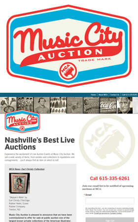 Music City Auction - Nashville's Best Live Auctions!