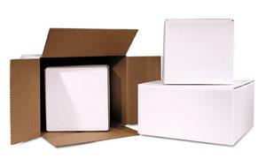 White Shipping Boxes | White Corrugated Boxes
