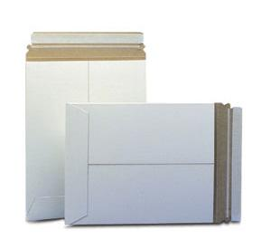 Stayflats® Plus White Top-Loading Self-Seal Mailer