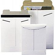 Stayflats Original White Tab-Lock Mailer