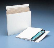 Expand-A-Mailer White Self-Seal Gusseted Mailer