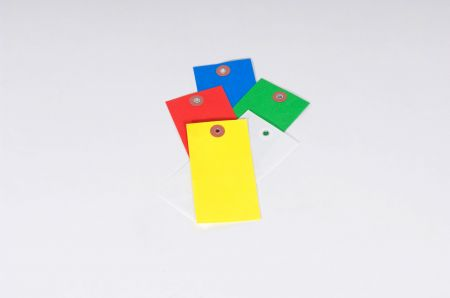Tyvek Colored Tags