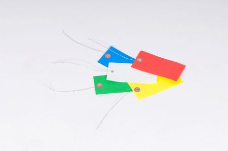 Tyvek Colored Pre-Wired Tags