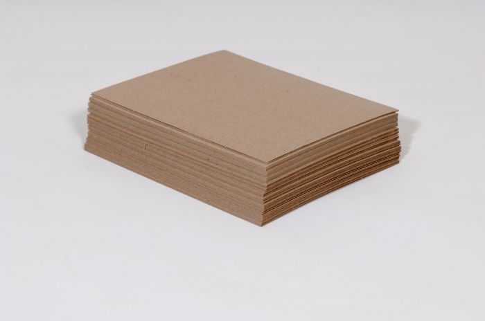 "8 1/2 x 11"" Heavy Duty 30 pt. Chipboard Pad (750/case)"