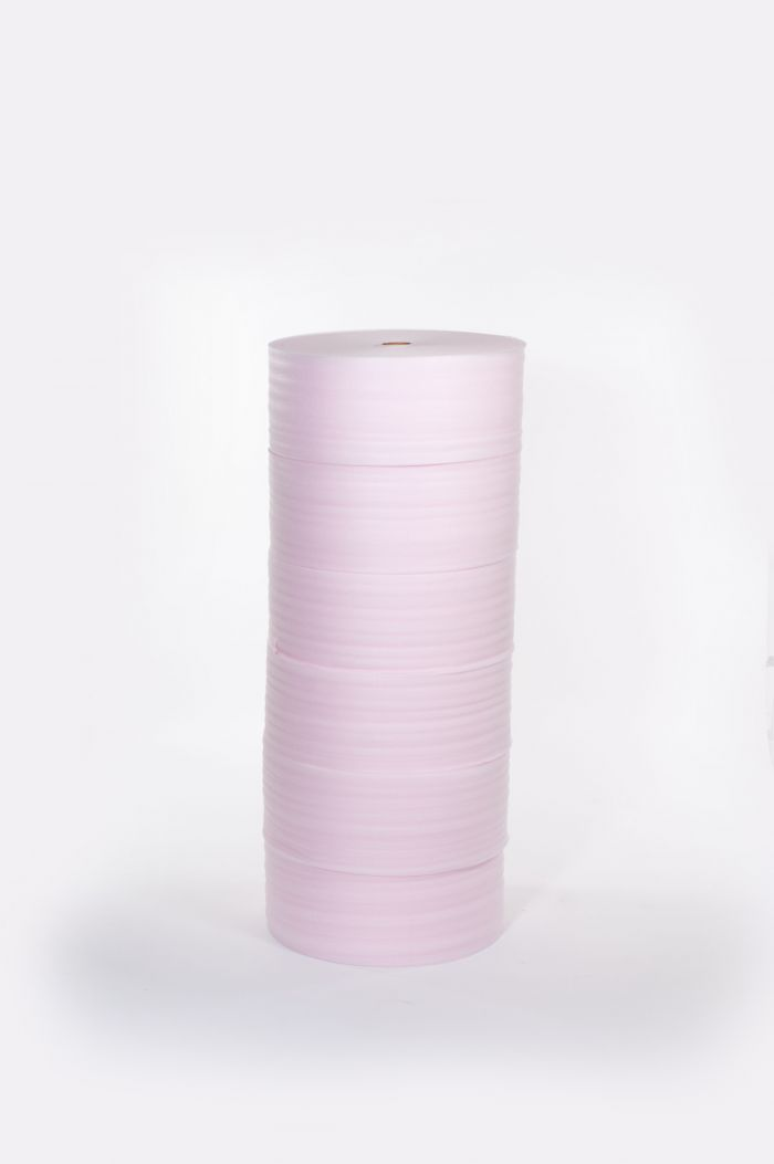 "1/8"" 72"" x 550` Anti-Static Perfed 12"" Foam .................(1 roll/bundle)"