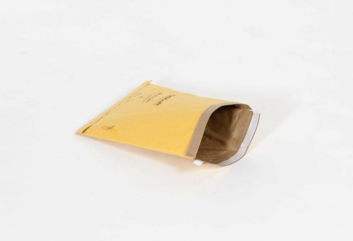 "#7 - 14 1/4 x 20"" Kraft Self-Seal Padded Mailer (50/Case)"
