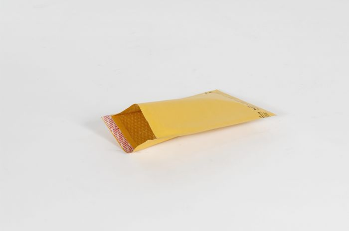 "#1 - 7 1/4 x 12"" Kraft Self-Seal Bubble Mailer (100/Case)"