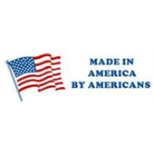"#DL1665 2 x 6"" Made In America by Americans Label"