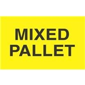 "#DL2481 3 x 5"" Mixed Pallet Label"