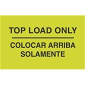"#DL3071 3 x 5"" Colocar Arriba Solamente - Bilingual Label"