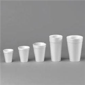 Dart® 16 oz White Foam Cups (1000/cs) (MFG# 16J16)