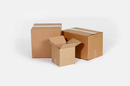 12 3/4 x 6 3/8 x 13 1/2 32ECT Master Carton holds 4-Pack of 6x6x6 Boxes