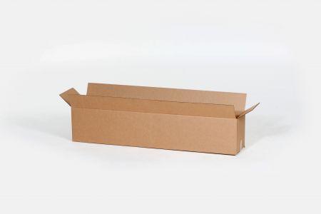BOX USA B24244 Flat Corrugated Boxes Kraft Pack of 10 24L x 24W x 4H