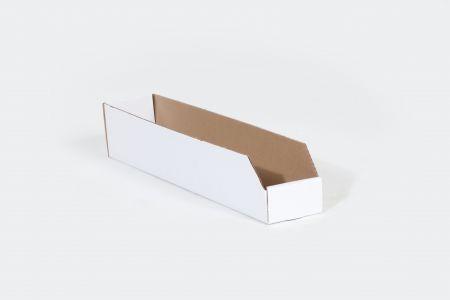 """2 x 18 x 4 1/2"""" Open Top Bin Box"""